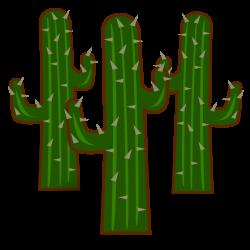 Clipart - Heavy Cactus