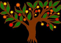 Clipart - Tree (colour)