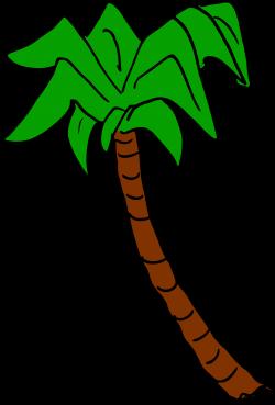 Clipart - Palm tree 6 (colour)