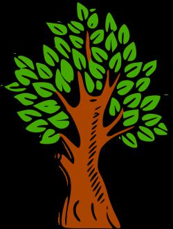 Clipart - Tree colour