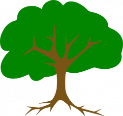 Tree V Clip Art at Clker.com - vector clip art online, royalty free ...