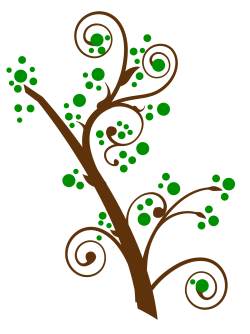 Swirl Tree PNG Transparent Image - PngPix