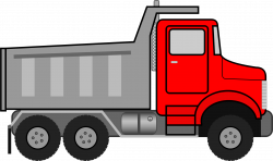 Free photo: Truck clipart - truck, load, industrial - Non-Commercial ...