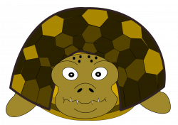 Clipart - Turtle front