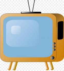 Tv Icon clipart - Television, Illustration, Blue ...