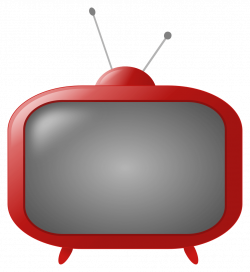 Old Style TV - Rooweb Clipart