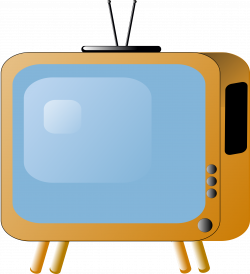 Clipart - old-styled-tv-set