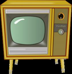 Public Domain Clip Art Image   Vintage TV   ID: 13539940814091 ...