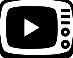 Television Tv Video Movie Show Watch Svg Png Icon Free Download ...