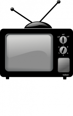Old Television 2 0 Clipart   i2Clipart - Royalty Free Public Domain ...