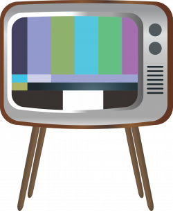 Clipart - Old TV