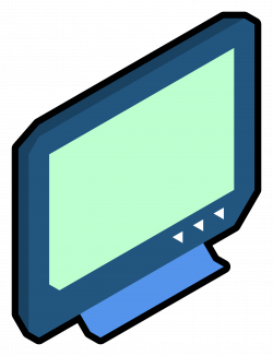 Clipart - isometric tv
