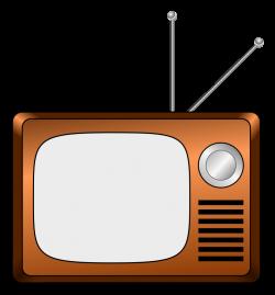 Clipart - Wooden TV