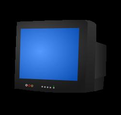 Clipart - CRT TV
