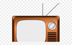 Television Clipart Tv Frame - Cartoon Old Tv Png Transparent ...