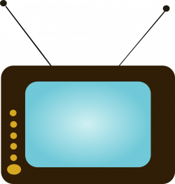 Public Domain Clip Art Image | TV set 5 | ID: 13550798413194 ...