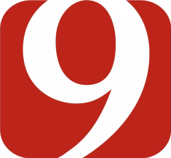 Notable Channel 9 TV station logo designs - NewscastStudio