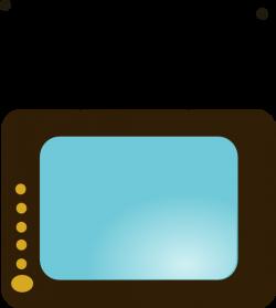 Tv No Remote clip art - vector   Clipart Panda - Free Clipart Images