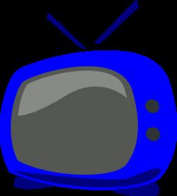 Blue Tv Clip Art at Clker.com - vector clip art online, royalty free ...
