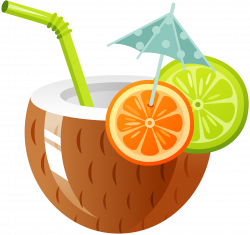 Cocktail Coconut water Drink Clip art - coconuts clipart 1980*1862 ...