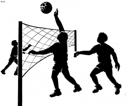 Volleyball Court Clipart