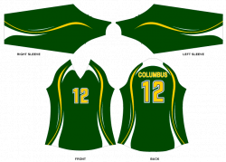 Sublimated Volleyball Uniforms - VBRG6