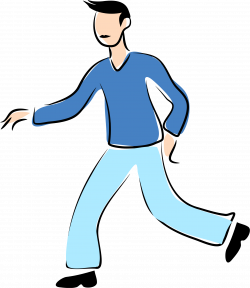 28+ Collection of Walking Man Clipart | High quality, free cliparts ...