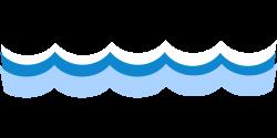 Waves sea water tide ocean blue free image