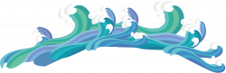 Wind wave Drawing - Wave 1815*595 transprent Png Free Download ...