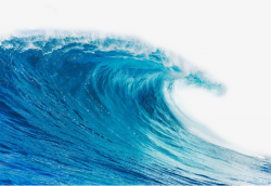 Blue Wave, Blue, Ocean, Waves PNG Image and Clipart for Free Download