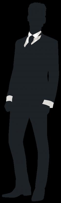 Groom Silhouette Clip Art - Best WEB Clipart