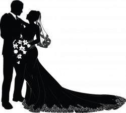 Marriage Silhouette at GetDrawings.com | Free for personal use ...
