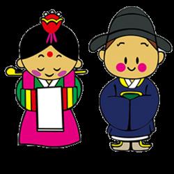 South Korea Cartoon Clip art - wedding 600*600 transprent Png Free ...