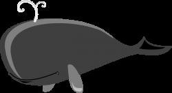 Gray Whale Grey Clip Art at Clker.com - vector clip art ...