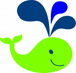 Green Whale Clip Art at Clker.com - vector clip art online, royalty ...