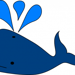Clipart whale big blue - Graphics - Illustrations - Free Download on ...