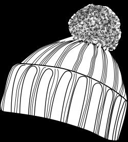 Clipart - bobcap black-white