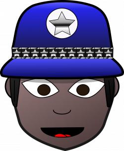 Clipart - Police Woman 2