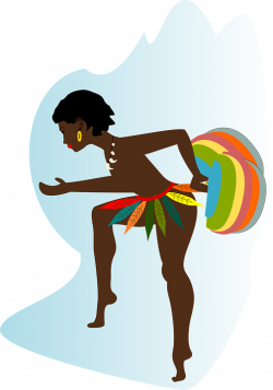 African Lady Silhouette at GetDrawings.com | Free for personal use ...