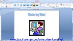 Microsoft Office Word 2013 Tutorial Using Clip Art 12.5 Employee ...