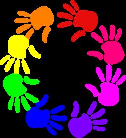 Circle Hands Friendship Survival Kit Clip Art at Clker.com - vector ...