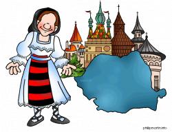 Europe Clip Art by Phillip Martin, Romania