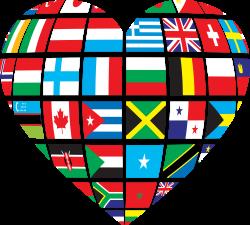 Clipart - Global Heart