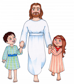 28+ Collection of Jesus Christ Children Clipart | High quality, free ...