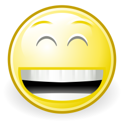 Laughing Smiley Face#5027763 - Shop of Clipart Library