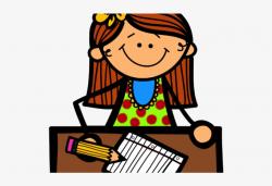 Notebook Clipart Math Assessment - Student Writing Clipart ...