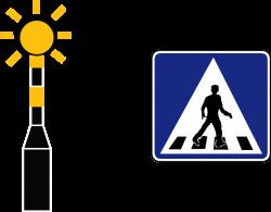 File:Drawing of alternative zebra crossing indicators in Singapore ...