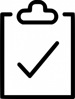To Do Clipboard Survey Petition Svg Png Icon Free Download (#571211 ...