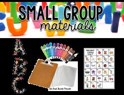 Small Group Alphabet Instruction - The First Grade Parade