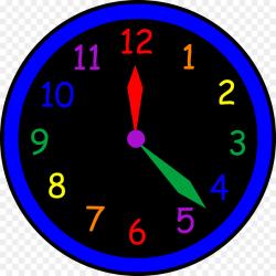 Clock Cartoon clipart - Circle, transparent clip art